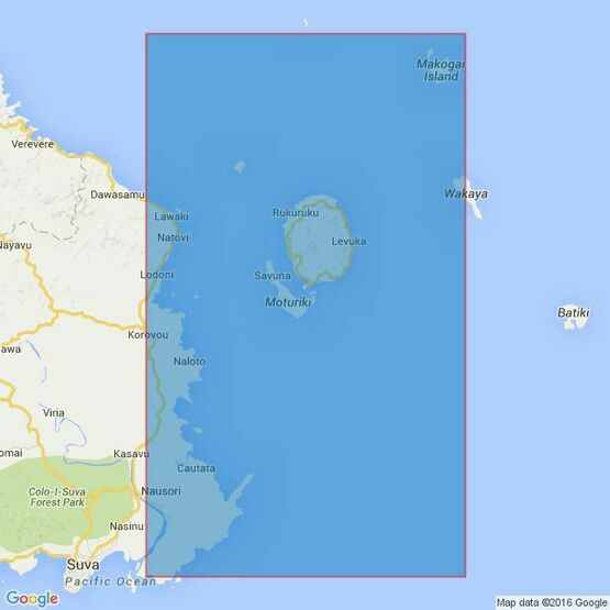 488 Makogai Channel to Nasilai Reef Admiralty Chart