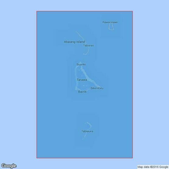 700 Maiana to Marakei Admiralty Chart