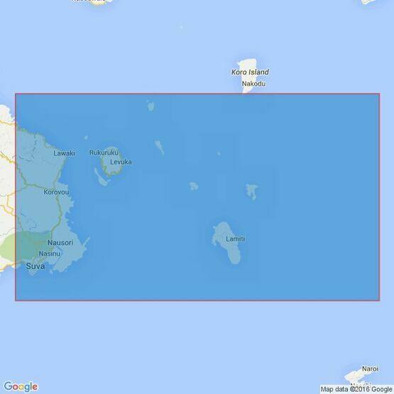 744 Suva Harbour to Koro Island Admiralty Chart