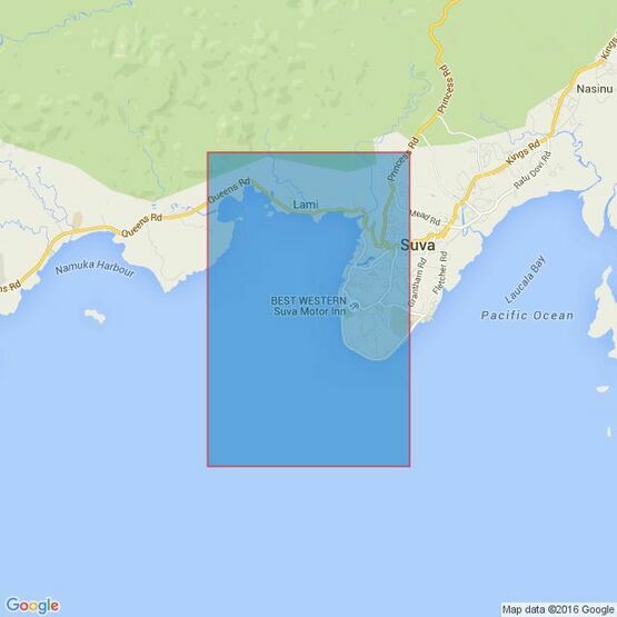 1660 Suva Harbour Admiralty Chart