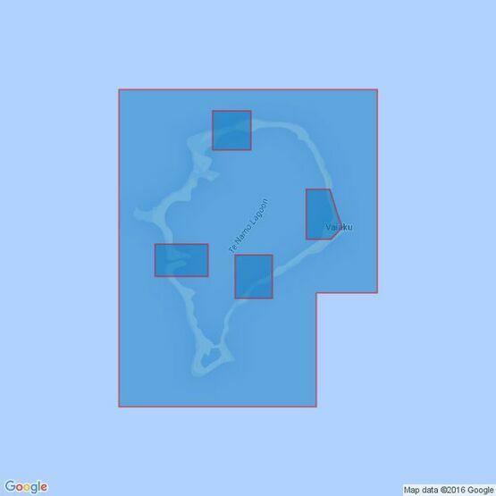 2983 Funafuti Atoll Admiralty Chart