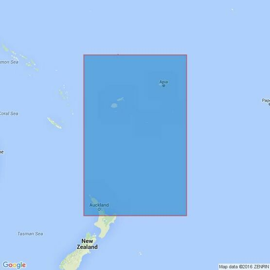 4605 New Zealand to Fiji and Samao Islands Admiralty Chart