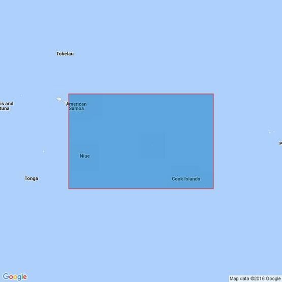 4630 Samoa Islands to Southern Cook Islands Admiralty Chart