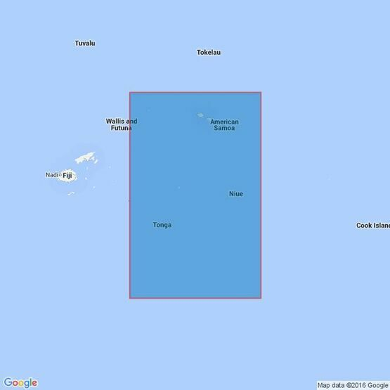4631 Samoa Islands to Tonga including Niue Admiralty Chart