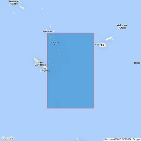 4637 Vanuatu to Norfolk Island Admiralty Chart