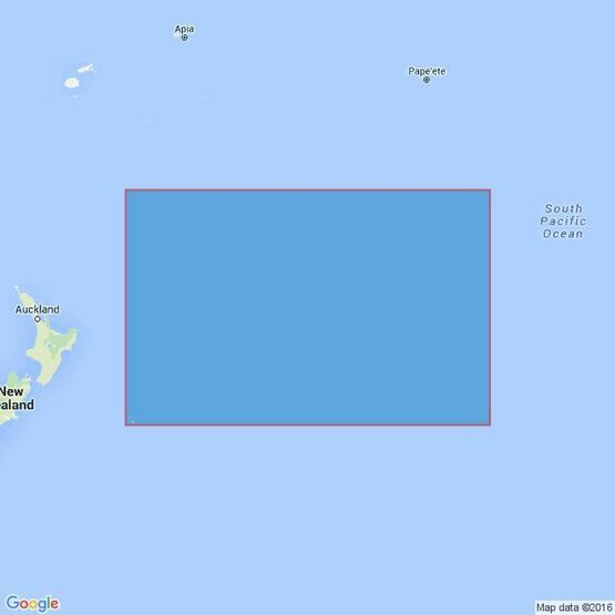 4613 Chatham Islands to Ile Rapa Admiralty Chart