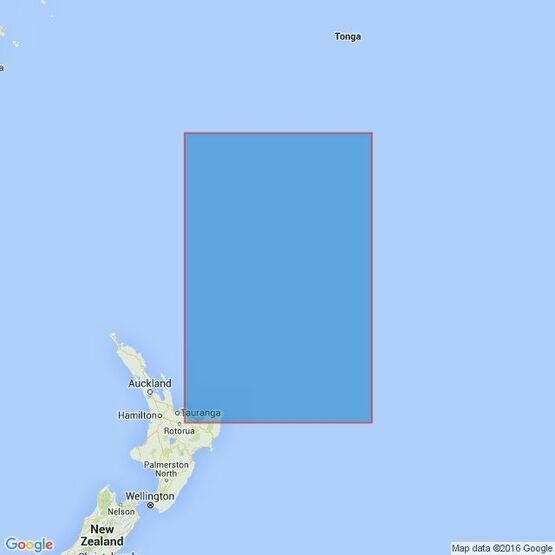 4639 Kermadec Islands to East Cape Admiralty Chart