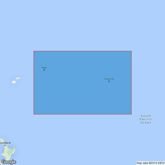 4606 Tonga to Archipel des Tuamotu Admiralty Chart