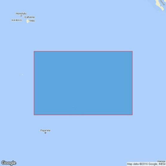 4619 Iles Marquises to Clipperton Fracture Zone Admiralty Chart