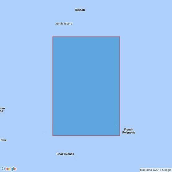 4653 Malden Island to Iles De La Societe Admiralty Chart