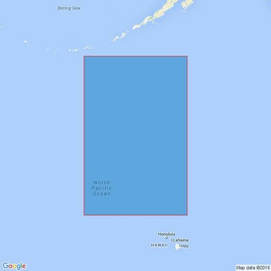 4805 Hawaiian Islands to the Aleutian Trench Admiralty Chart