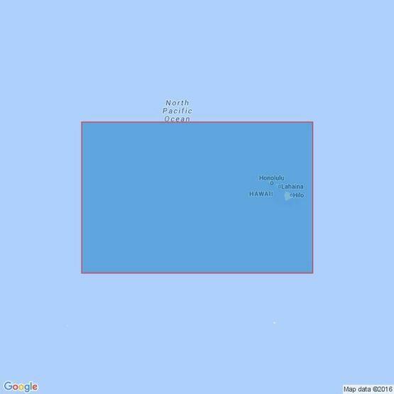 4809 Hawaiian Islands Admiralty Chart