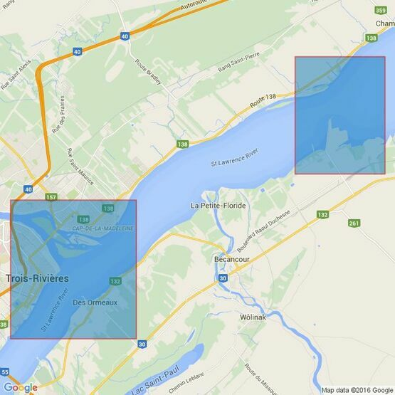 4789 Batiscan au/to Lac Saint-Pierre Admiralty Chart