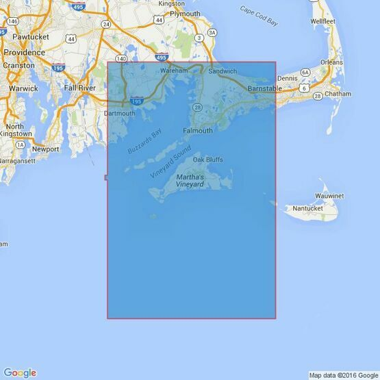 2456 Nantucket Sound Western Part Buzzards Bay and Approaches Admiralty Chart