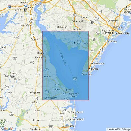 2564 Delaware Bay Admiralty Chart