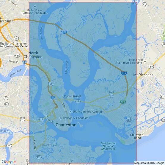 2809 Charleston Harbor Admiralty Chart