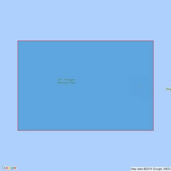 525 Boca Grande Key to Dry Tortugas Admiralty Chart