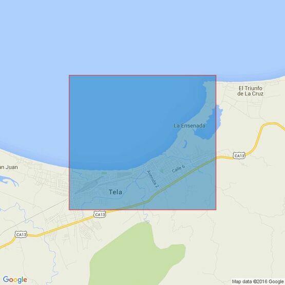 513 Isla de Roatan to Puerto Cortes Admiralty Chart