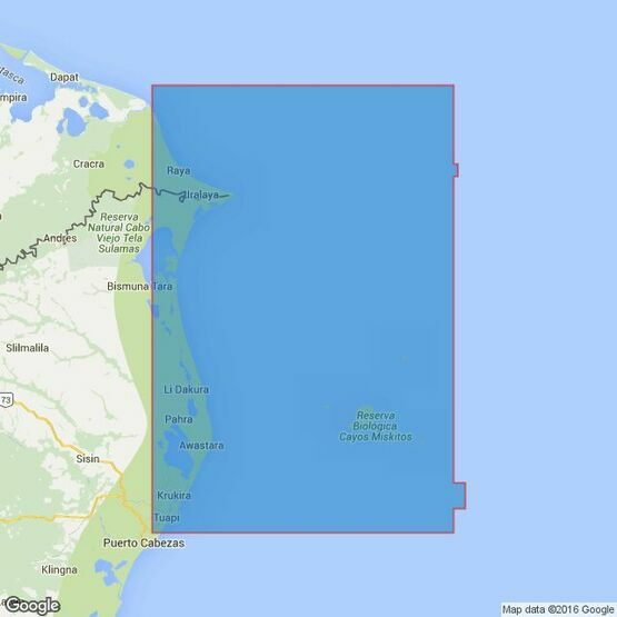 2425 River Hueson to False Cape including Morrison and Mosquito Cays Admiralty Chart