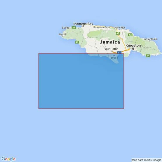 260 Pedro Bank to the South Coast of Jamaica Admiralty Chart