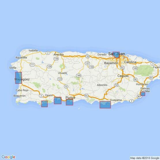 478 Ports in Puerto Rico Admiralty Chart