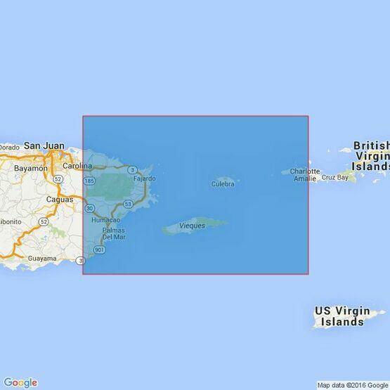 2003 West Indies Puerto Rico, Virgin Islands Admiralty Chart