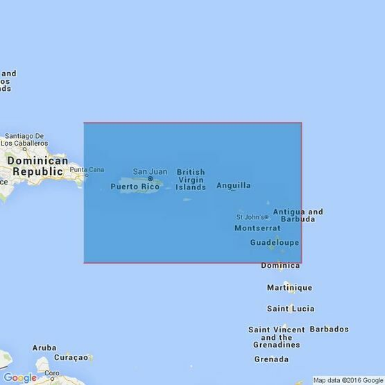 2600 Mona Passage to Dominica Admiralty Chart