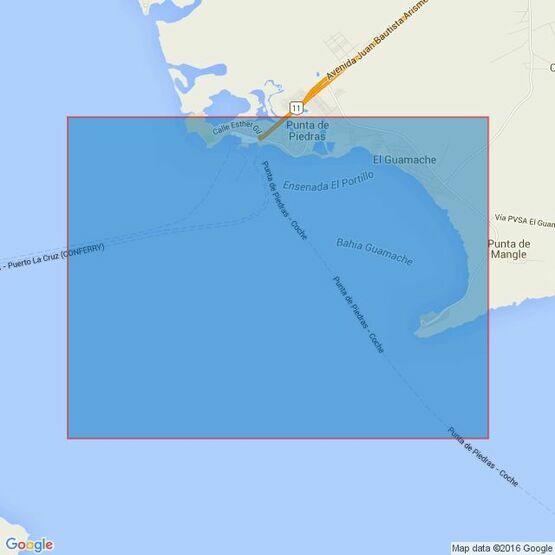 230 Canal de Margarita to Bahia de Pozuelos Admiralty Chart