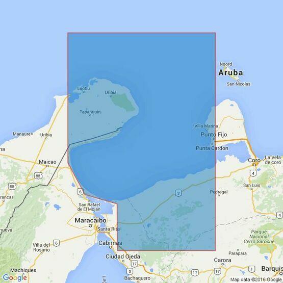 2194 Punta Macolla to Punta Gallinas including Golfo De Venezuela Admiralty Chart