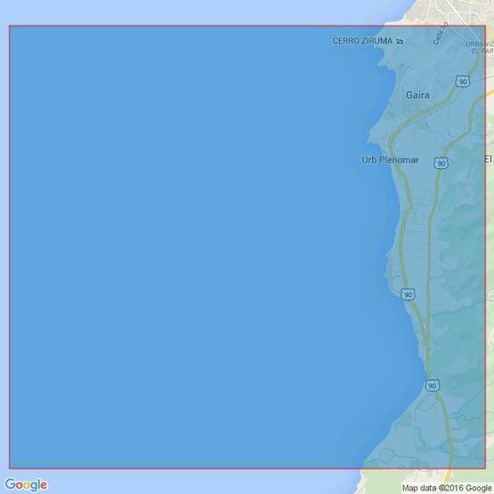 1276 Bahia Santa Marta to Punta Canoas Admiralty Chart