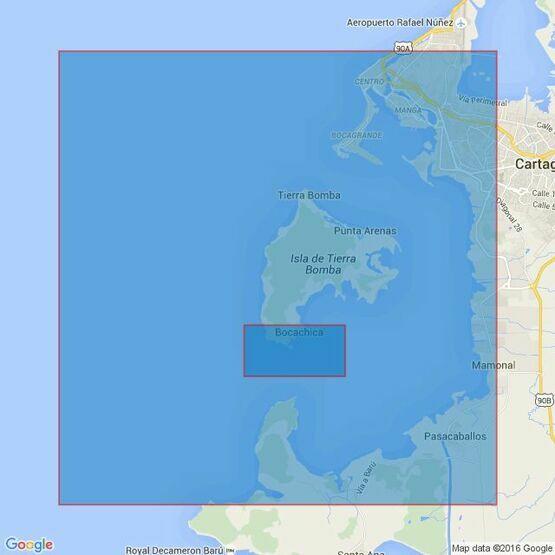2434 Bahia de Cartagena Admiralty Chart
