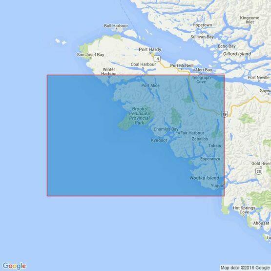 4943 Nootka Sound to Quatsino Sound Admiralty Chart