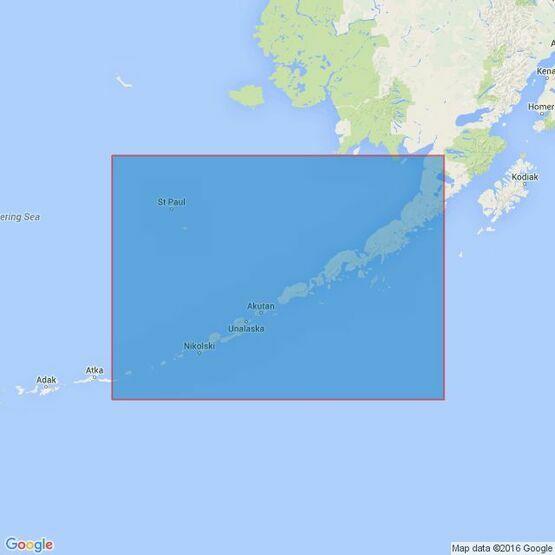 4977  Alaska -  Alaska Peninsula and Aleutian Islands to Seguam Pass Admiralty Chart