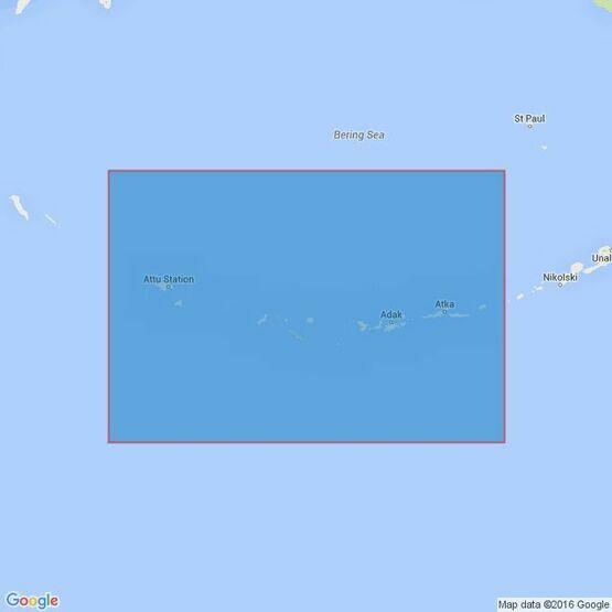 4978  Alaska -  Aleutian Islands, Amukta Pass to Attu Islands Admiralty Chart