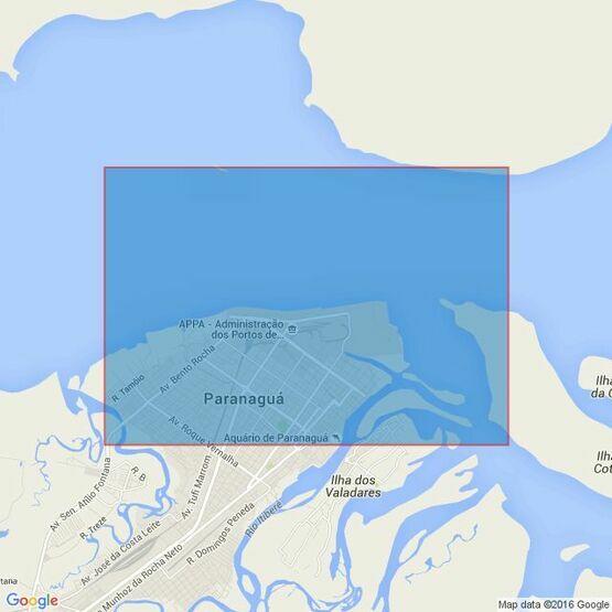 231 Approaches to Porto de Paranagua Admiralty Chart