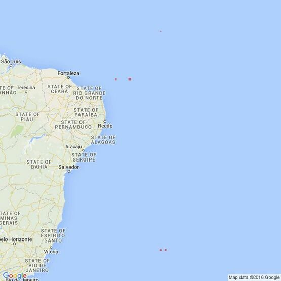 388 Islands off the East Coast of Brazil Admiralty Chart
