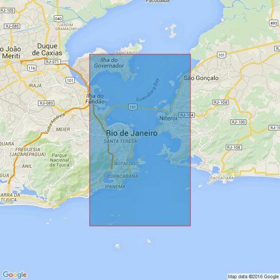 566 Baia de Guanabara Admiralty Chart