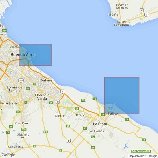 1751 Puerto de Buenos Aires Admiralty Chart
