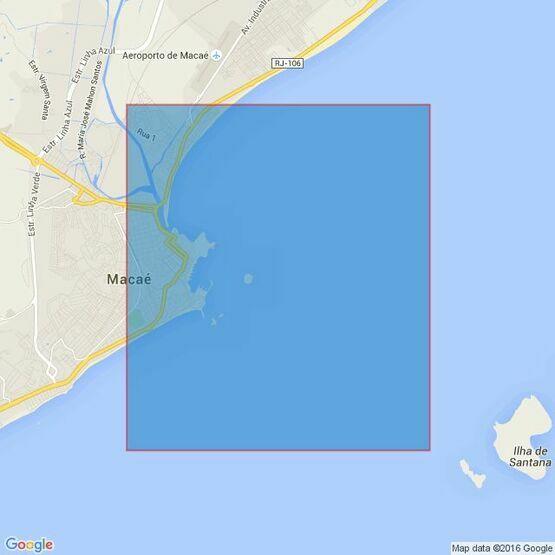 3971 Cabo de Sao Tome to Rio de Janeiro Admiralty Chart