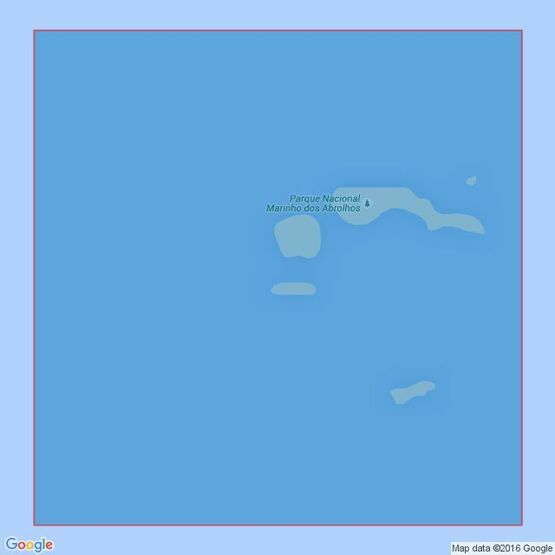3973 Ponta Corumbau to Rio Doce Admiralty Chart
