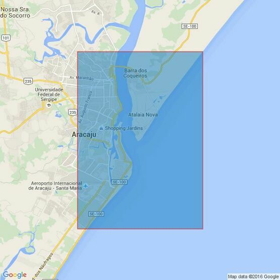 3976 Aracaju to Ponta Acu da Torre Admiralty Chart