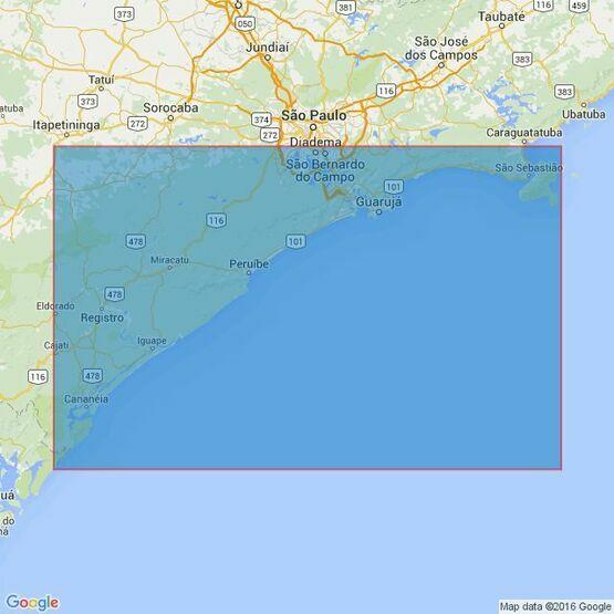 3980 Ilha de Sao Sebastiao to Ilha de Bom Abrigo Admiralty Chart
