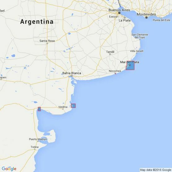531 Plans on the Coast of Argentina Admiralty Chart