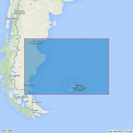 558 Isla Leones to Estrecho de Magallanes including the Falkland Islands Admiralty Chart