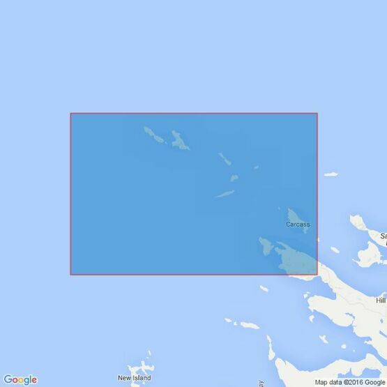 2526 Byron Sound to Jason Islands Admiralty Chart