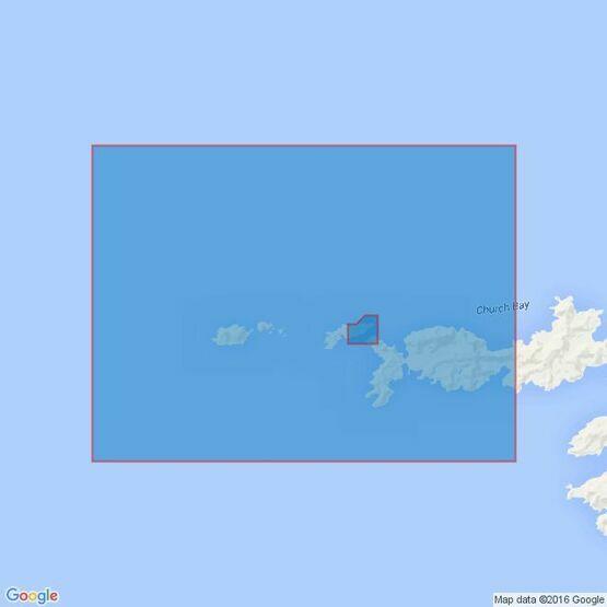 3592 Stewart Strait Admiralty Chart