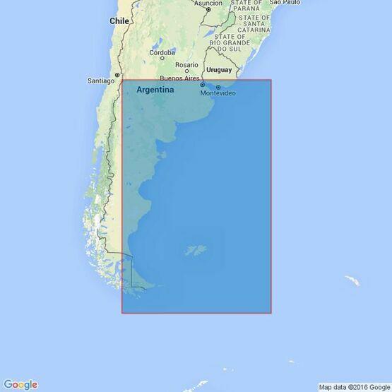 4200 Rio de la Plata to Cabo de Hornos Admiralty Chart