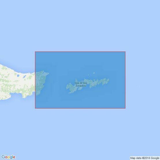 1332 Isla de los Estados and Estrecho de le Maire Admiralty Chart