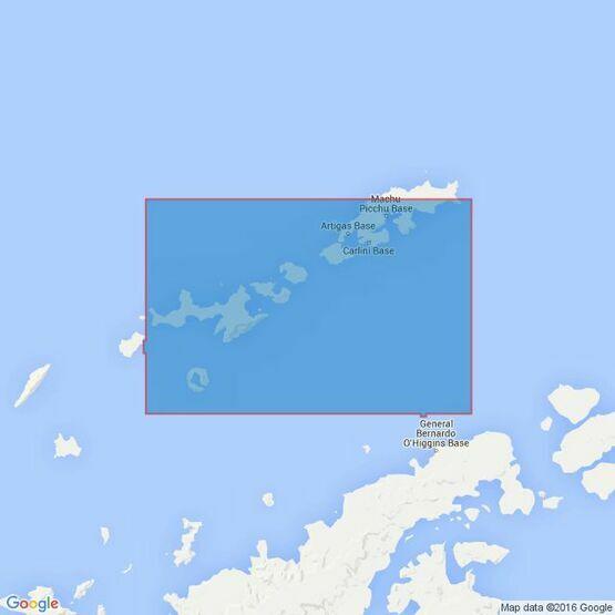 1776 Livingston Island to King George Island Admiralty Chart