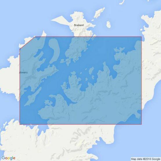 3566 Gerlache StraitSouthern Part Admiralty Chart